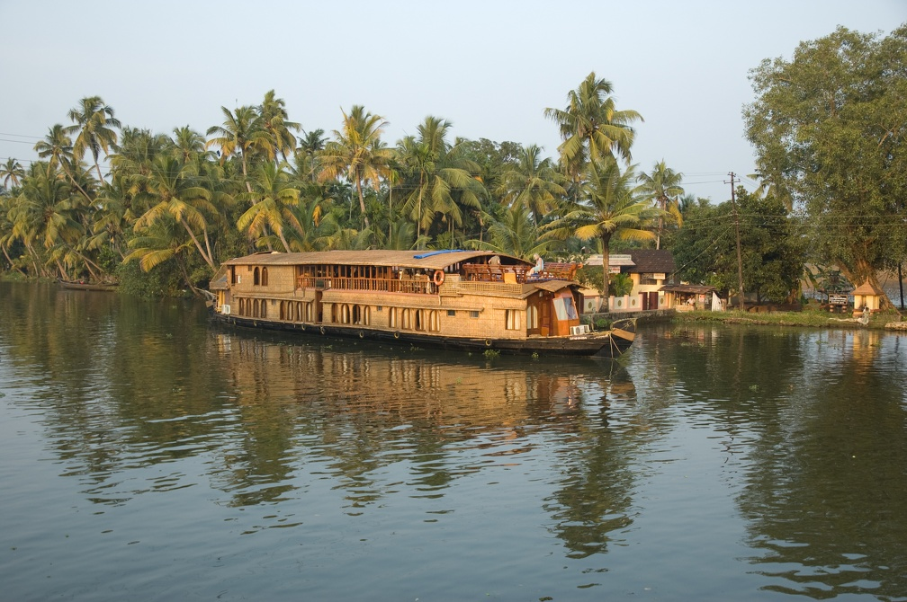 houseboat, russell brand, river cruise, kerala