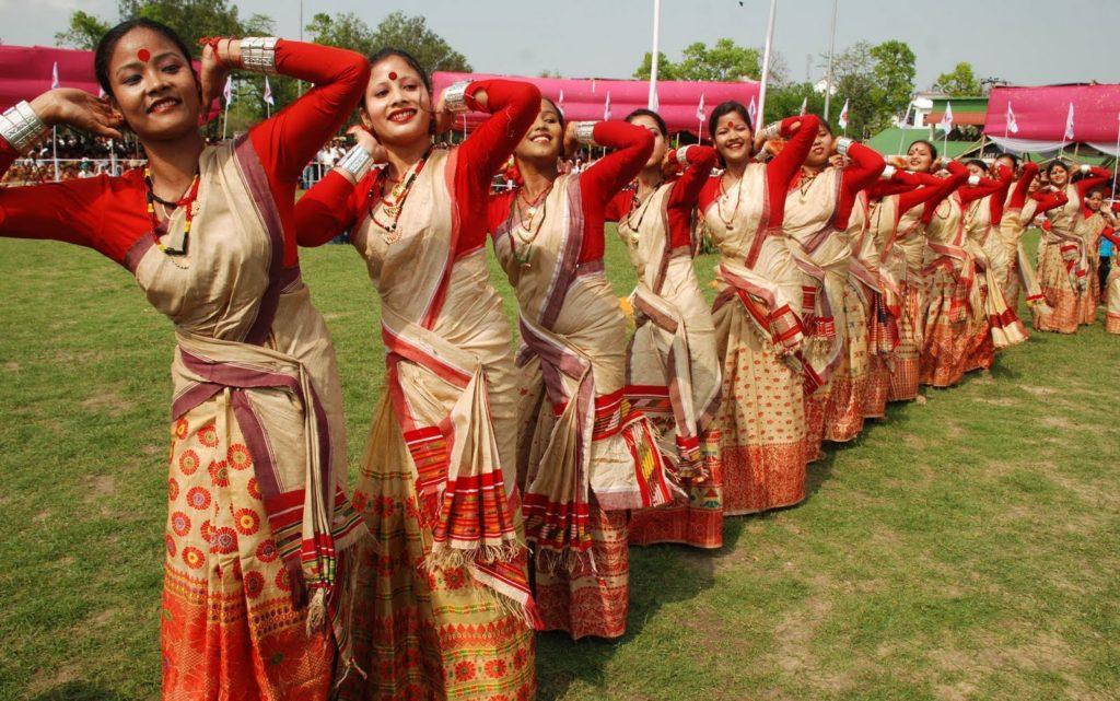 The Bihu Festival, Assam