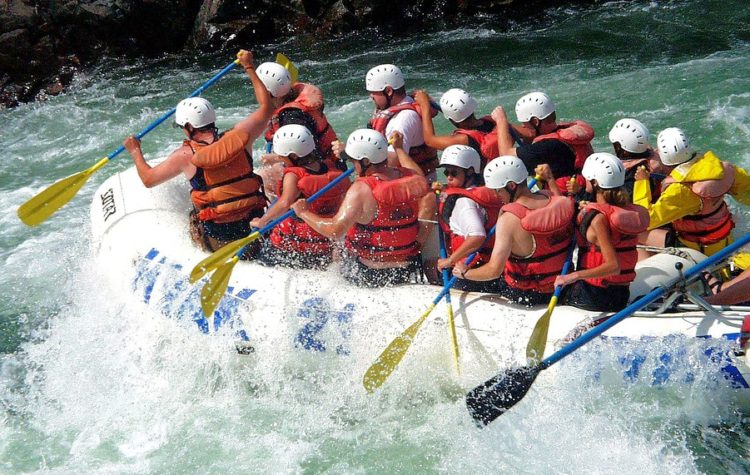 Betwa River Rafting
