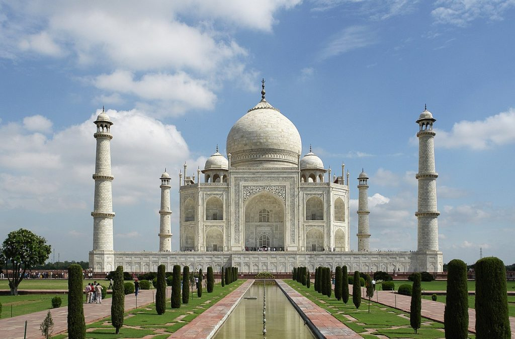 taj mahal, rajasthan, agra, golden triangle, best journeys of 2020